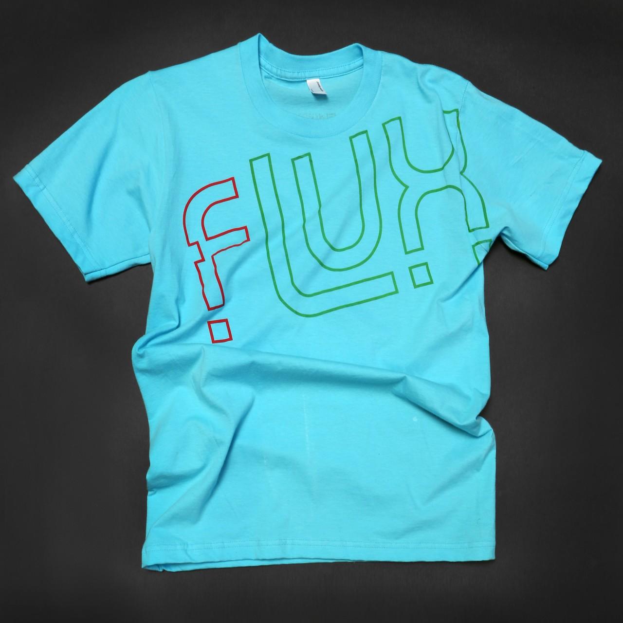FluxBlueShirt